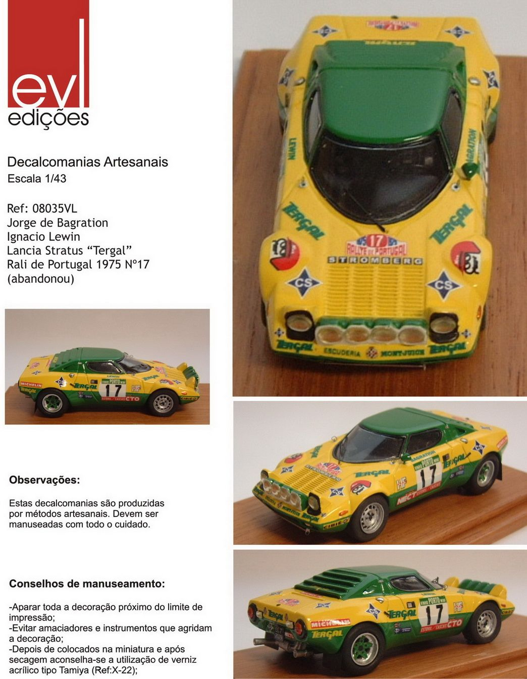 Leulin - Lancia Stratos HF